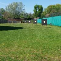 Trainings- und Kurs-Gelände Bogenschießen der Schaftspalter
